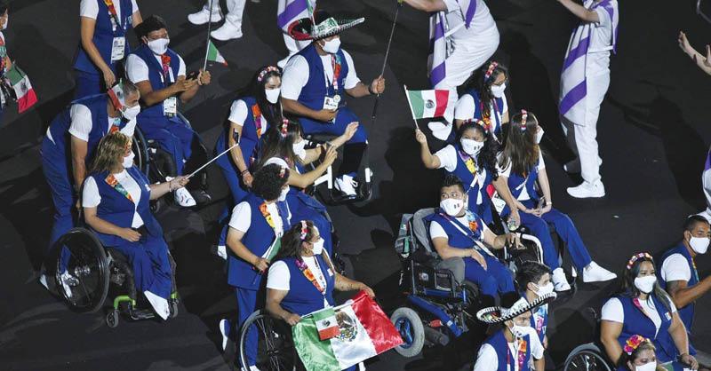 Los deportistas con discapacidad que han participado en los Juegos Paralímpicos de Tokio 2020 lograron que el país superara las 300 preseas