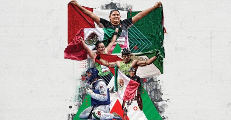 México bajó el telón de su participación en los Paralímpicos Tokio 2020 con 22 medallas, su mejor cifra en 17 años; la cosecha histórica
