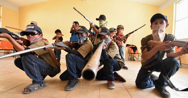 Unirse a las filas de la delincuencia organizada para salir de la marginación y la pobreza no debería ser la única salida de los menores de edad