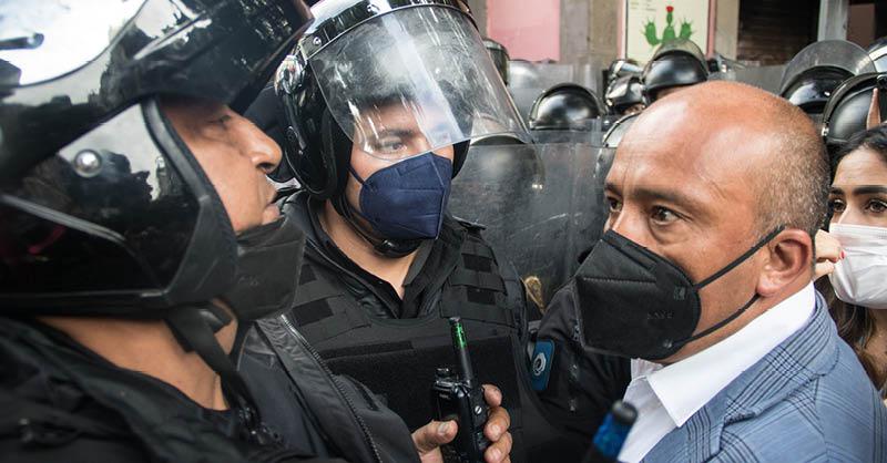 Morena muestra sus dos peores rostros: el autoritarismo y la represión. Es lamentable el cinismo con el que le mienten a los mexicanos