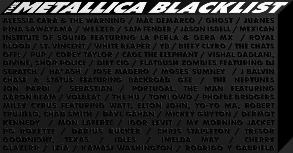 """Reseña: """"The Metallica Blacklist"""", una orgía de 53 versiones de las canciones del Black Album"""