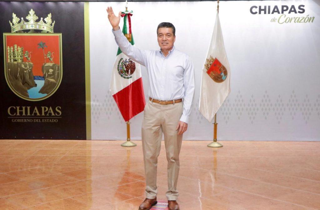El gobernador de Chiapas, Rutilio Escandón, se encuentra en el ojo del huracán