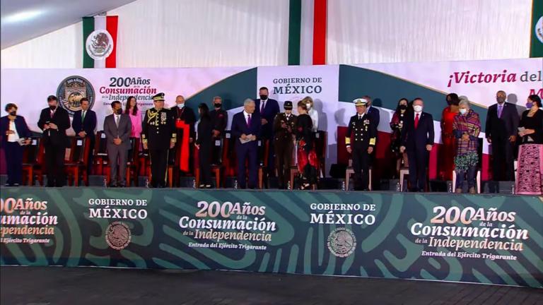 Sigue EN VIVO la ceremonia por los 200 años de la consumación de Independencia en el Zócalo