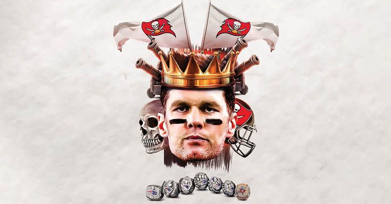 Tom Brady, el QB que tiene más triunfos en el Super Bowl que cualquiera de las 32 franquicias de la liga