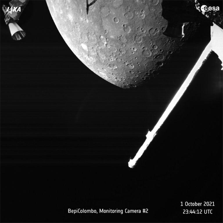 Nave espacial europeo-japonesa obtiene primeras fotos de Mercurio; así luce el planeta