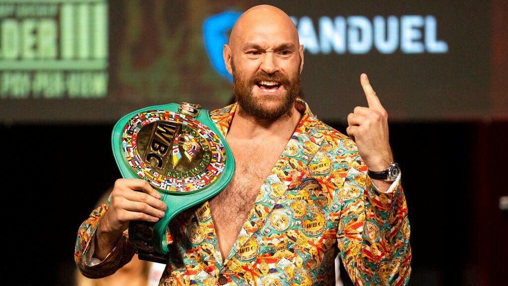 """Fury sentencia a Wilder: """"Lo voy a noquear y retirar"""""""