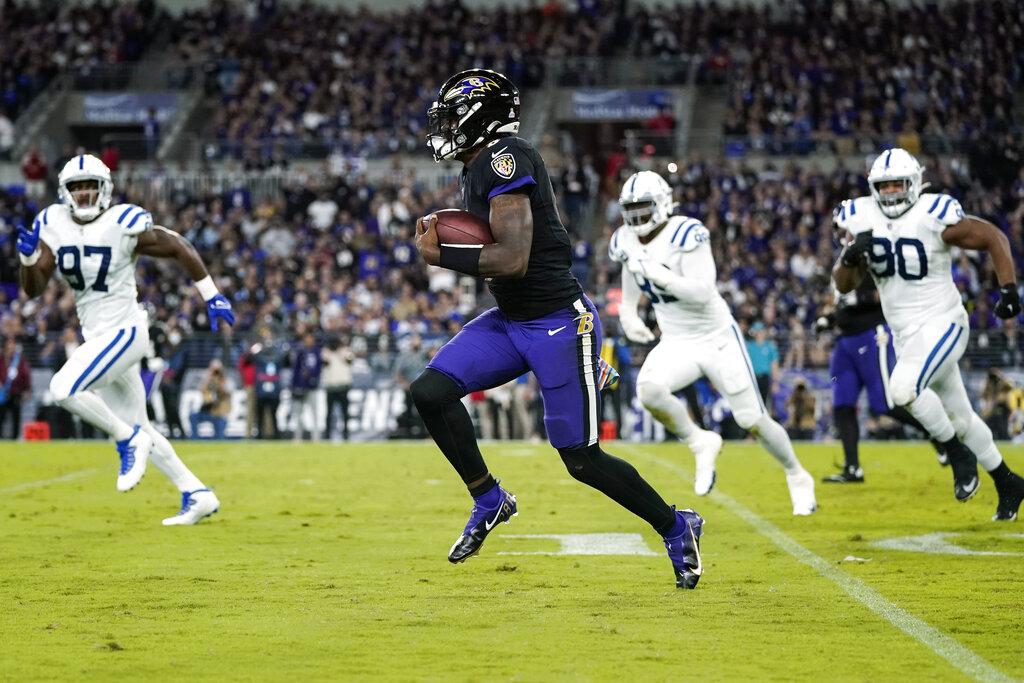 Remontada de altos vuelos: Baltimore le saca el juego a los Colts