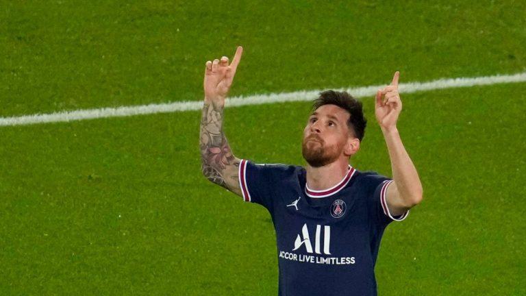 Messi se luce con doblete en jornada goleadora en Champions