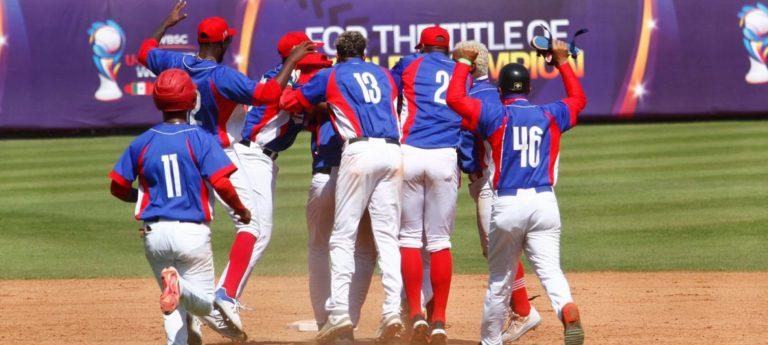 Cuba beisbolistas México