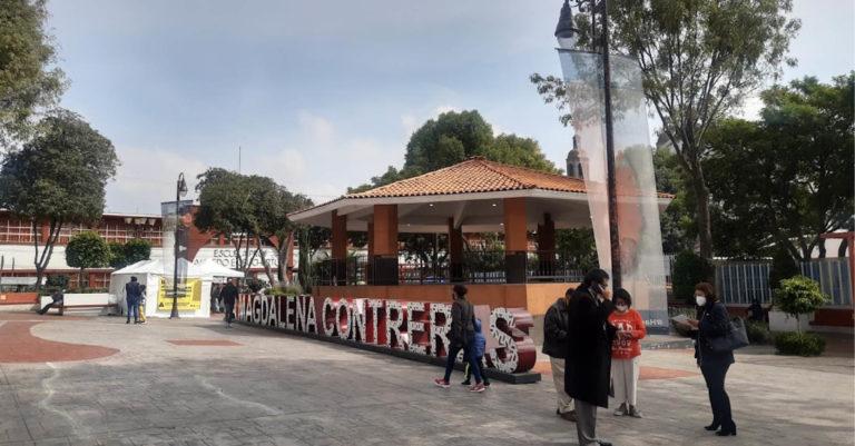 La exalcaldesa de la alcaldía Magdalena Contreras dejó computadoras inservibles y adeudos de luz de 6 millones de pesos, denuncia el actual titular