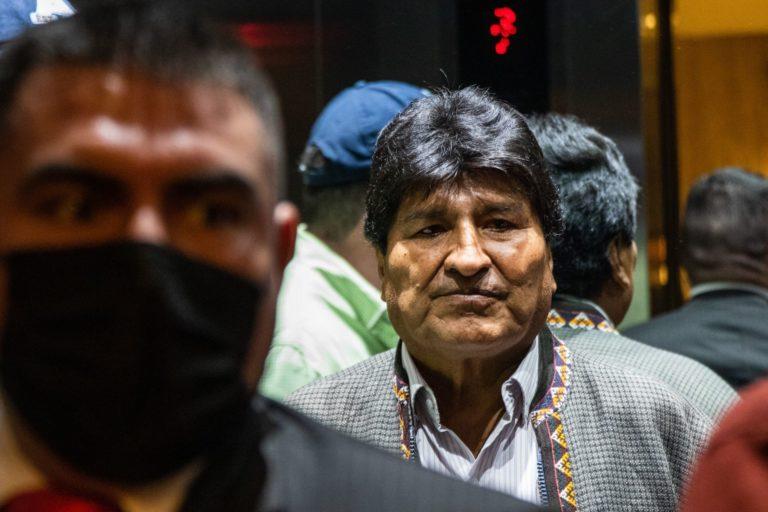 AMLO se reúne con Evo Morales en Palacio Nacional dos años después de salvarle la vida