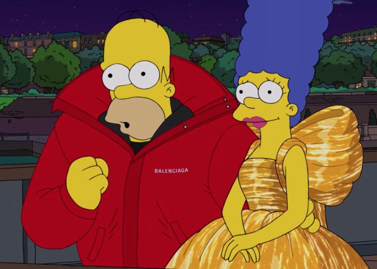 ¡De Springfield a Paris! Los Simpson desfilan para Balenciaga en el Fashion Week (VIDEO)