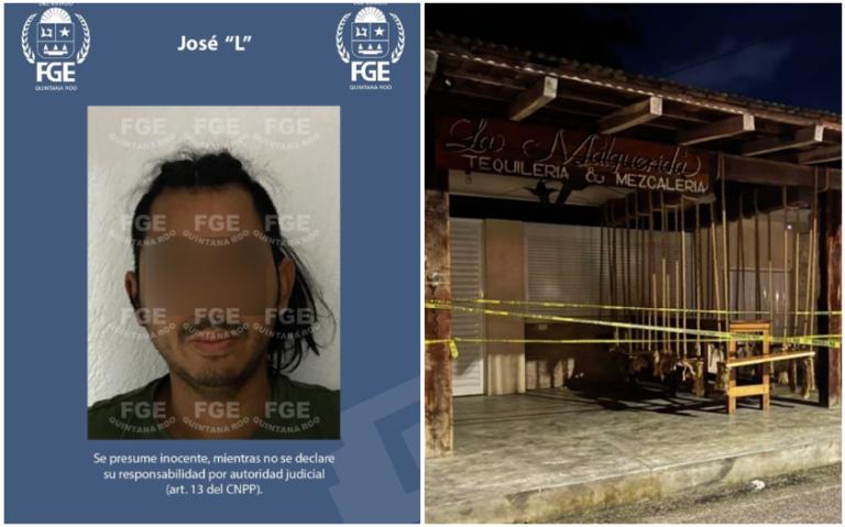 """Cae José """"L"""" por balacera en Tulum que cobró la vida de dos personas extranjeras"""