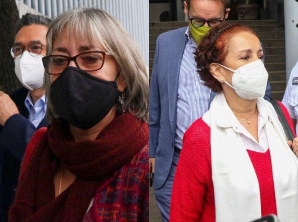 Zúñiga y Dutrénit, exfuncionarias del Conacyt, acuden a comparecer ante FGR  por acusación