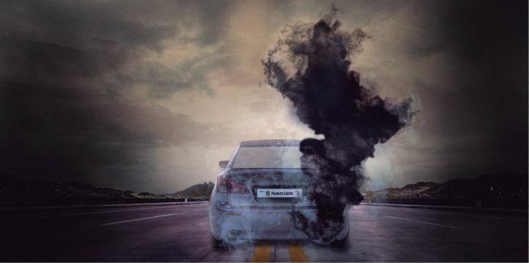 Alfonso Martínez Muñoz atribuyó la contaminación de Nuevo León a los automóviles