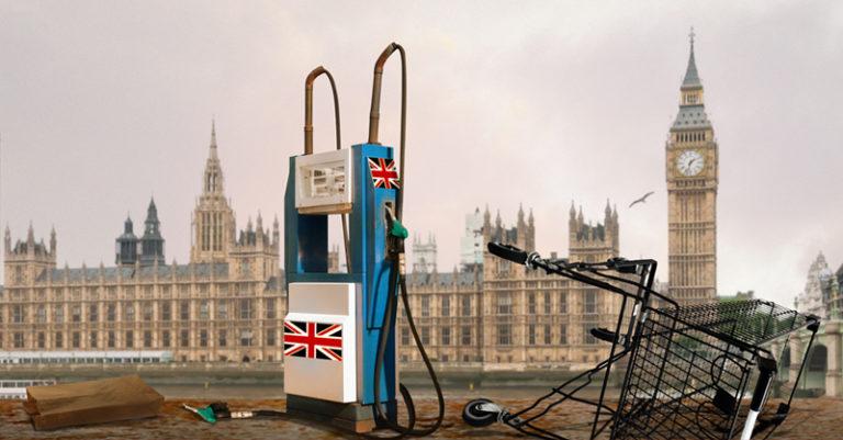 La escasez de gasolina por falta de trabajadores sigue siendo un desafío persistente en el Reino Unido