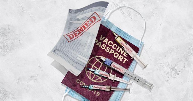 en Estados Unidos, que a partir de noviembre se reducirán algunas restricciones y se aplicarán otras, como qué vacunas se aceptan o no