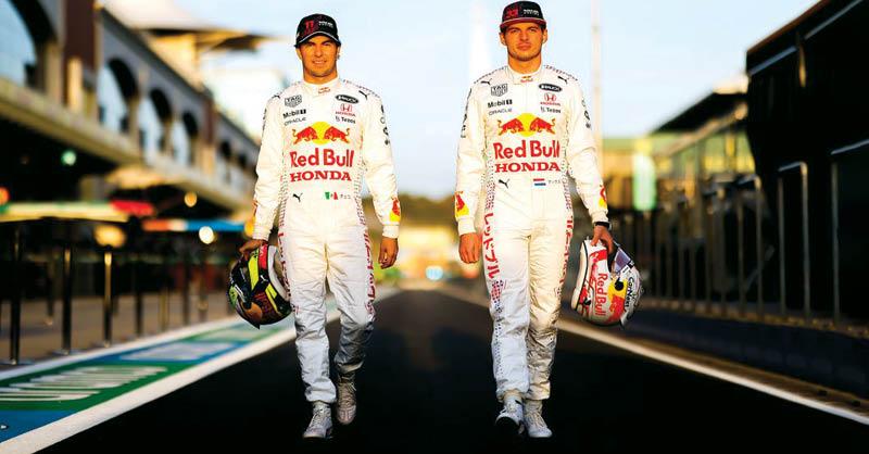 """Este fin de semana, en el Gran Premio de Turquía, los Red Bull Honda de Max Verstappen y nuestro """"Checo"""" Pérez cambiarán radicalmente"""
