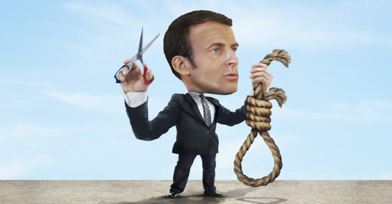 Emmanuel Macron busca abolir la pena de muerte a nivel mundial; se espera que tenga poco éxito