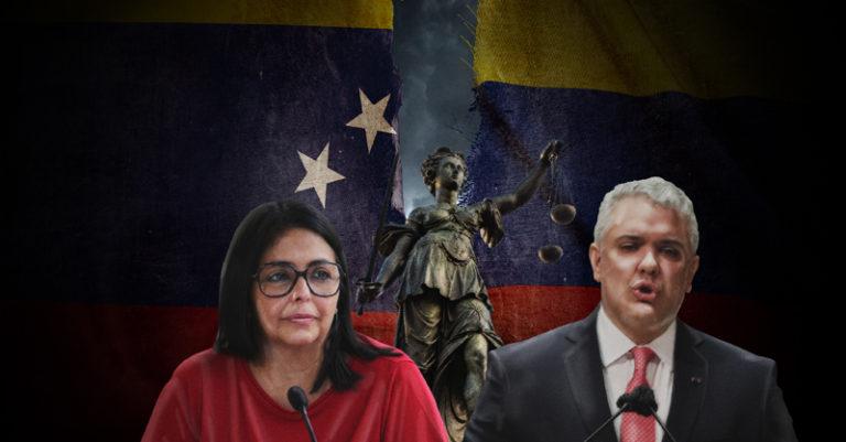 Tras la muerte de dos migrantes venezolanos en Tibú, Colombia, la vicepresidencia venezolana aseguró que llevará a Duque ante la corte internacional