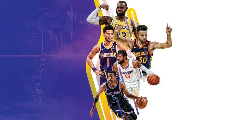 Los Lakers llegan como el equipo más veterano de la NBA