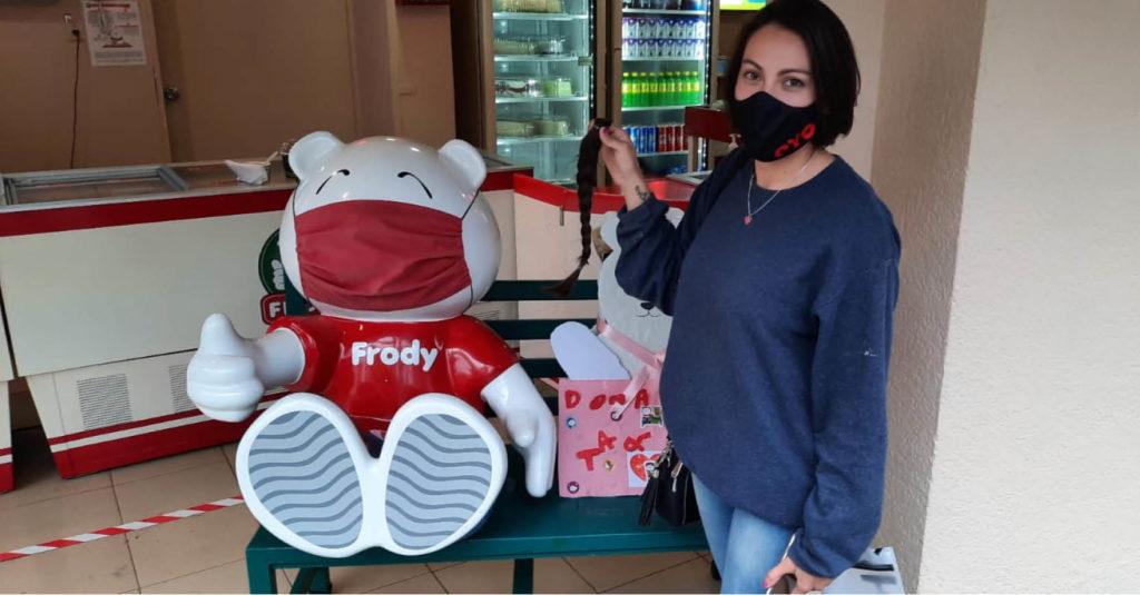 Neverías Frody de la Ciudad de México y Cuernavaca hará una colecta de tapas de plástico y trenzas de cabello natural
