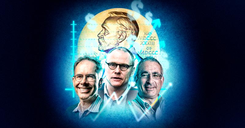 Los tres economistas premiados con el Nobel de Economía utilizan métodos de experimentación probados en las ciencias duras