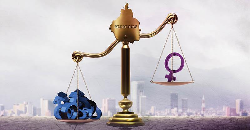 Las leyes que buscan promover la paridad de género en la Ciudad de México y en las 16 alcaldías son letra muerta para los nuevos gobiernos