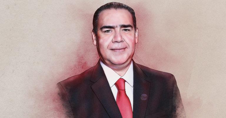 Heriberto Treviño, coordinador de la bancada del Partido Revolucionario Institucional (PRI), platica en entrevista sobre sus prioridades legislativas