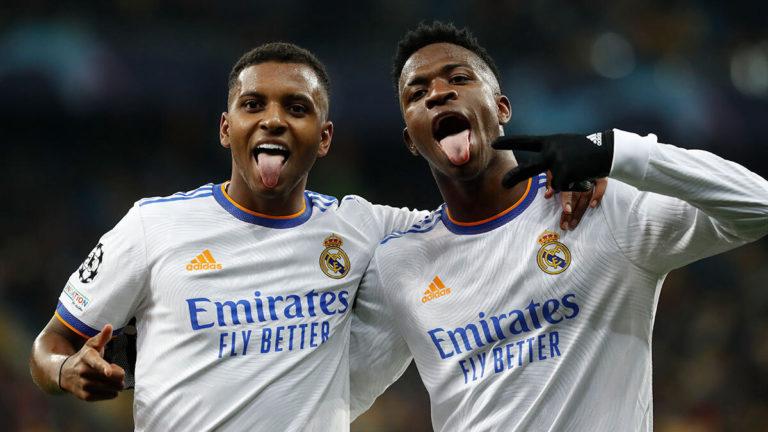 Real Madrid olvida el ridículo ante el Sheriff y apabulla al Shakhtar