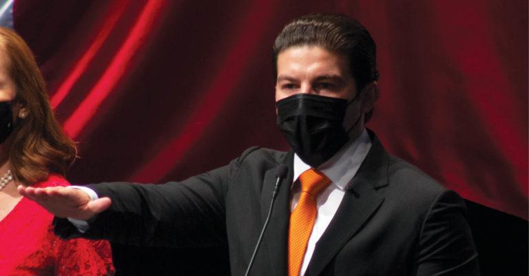 Samuel García Sepúlveda. Ayer tomó protesta en el cargo y hoy inicia su gestión
