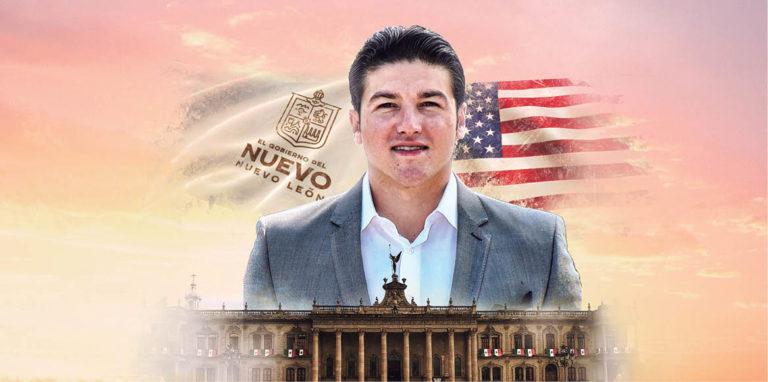 El gobernador Samuel García recibió al cónsul de los Estados Unidos en Monterrey