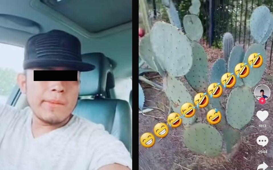 """""""Parecen puercos"""": Extranjero se burla e insulta a mexicanos por comer nopales; causa indignación (VIDEO)"""