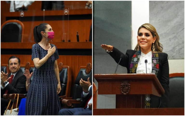 "Sheinbaum acusa machismo por llamar ""hija de Salgado Macedonio"" a nueva gobernadora"