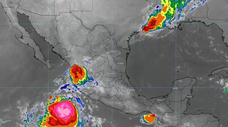 Tormenta tropical Pamela golpeará como huracán las costas de Sinaloa; esta es su ruta