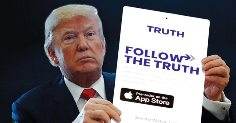 A nueves de meses de haber sido silenciado de Twitter y Facebook, el expresidente Trump anunció la creación de su propia compañía mediática