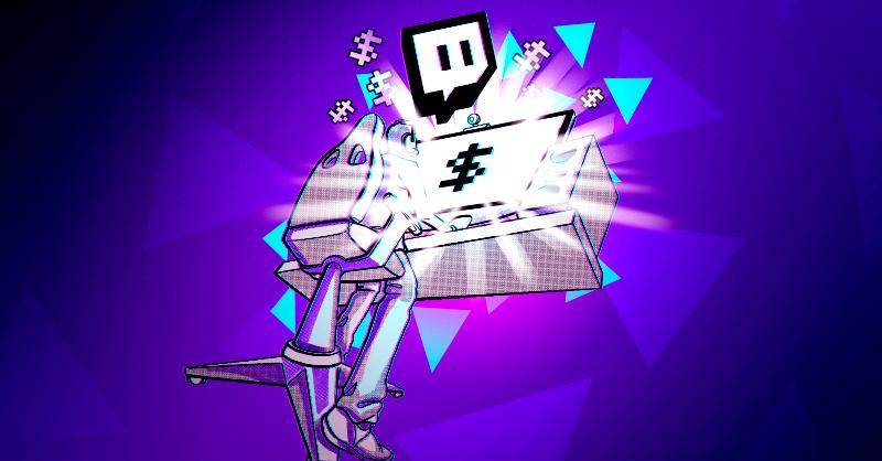 Twitch, la plataforma de transmisión en vivo que hoy opera con más de dos millones 600 mil espectadores concurrentes